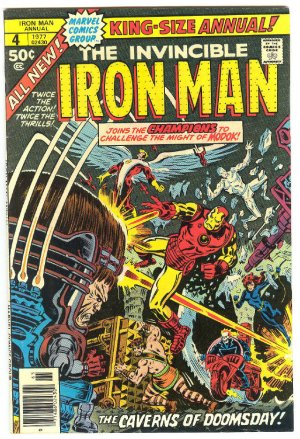 Iron Man Annual #4 The Champions 1977