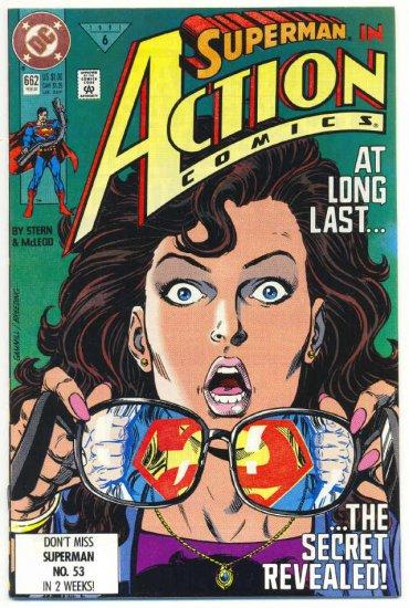Action Comics #662 The Secret Revealed 1991