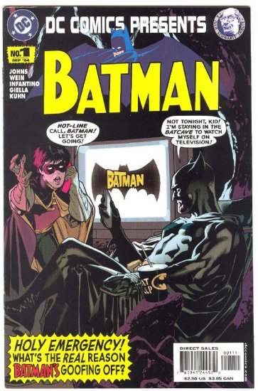 DC Comics Presents Batman #1 2004