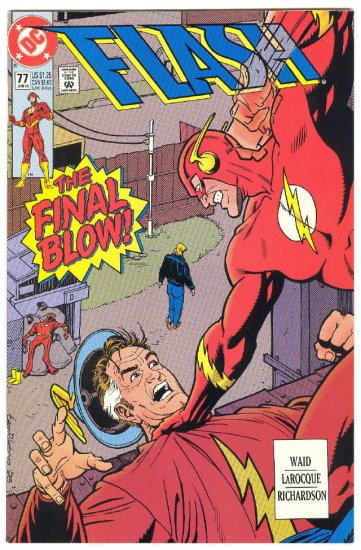 Flash #77 Suicide Run Barry Allen 1993