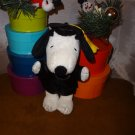 Peanuts Plush Snoopy Graduation Bean Bag Doll in Cap and Gown