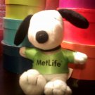 Metlife Snoopy Plush Lime Green Jersey #06