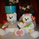 TY Beanie Babies - WE DO the Wedding Bears (set of 2)