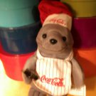1999 COCA-COLA BRAND BEAN BAG PLUSH