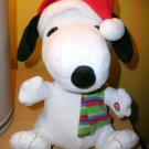 Snoopy Peanuts Plush Doll Gemmy animated musical flaps ears