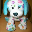 Webkinz Peace Puppy Dog  Ganz Plush Stuffed Animal