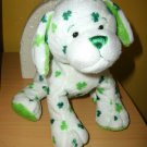WEBKINZ CLOVER PUPPY Dog GANZ Plush NO CODES