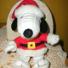 Hallmark Snoopy Santa Bean Bag Plush - Peanuts