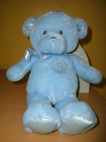Gund Baby My First Teddy Bear Blue #58897 Soft Plush Toy