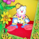 Ty Beanie Babies ~ JUGGLES the Clown Bear