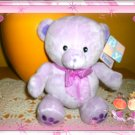Baby Fiesta Lavender Teddy Bear Bean Bag Stuffed Animals Plush