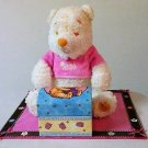 Disney-Winnie-The-Pooh-Pink-Shirt-Plush-With-Jewelry-Box-Girls-Room-Decorator
