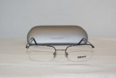 B. New DKNY Shiny Blue Eyeglasses: Mod. 6421 S & Case