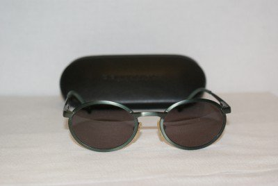 New Donna Karan Green Sunglasses: Mod. 134 & Case