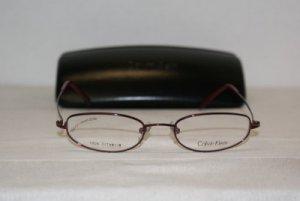 B. New Calvin Klein Eyeglasses: Mod. 557 (007) & Case
