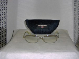 Brand New Polo Sport Silver Sunglasses: Mod. 1092 & Case