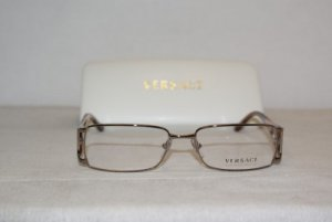 Brand New Versace Shiny Brown Eyeglasses: Mod. 1132 (1031) 52-16 & Case