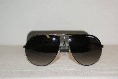 Brand New Carrera Ruthenium Sunglasses: Mod. Carrera 1 (T7C) 61-14 & Case