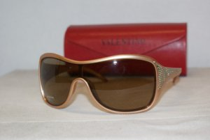 Brand New Valentino Light Brown Sunglasses: Mod. 5446 (GABKP) & Case