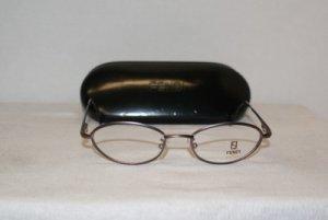 Brand New Fendi Lavender Eyeglasses: Mod. F 76 & Case