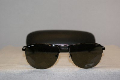 Brand New Carrera Gunmetal Sunglasses: Mod. 917 & Case