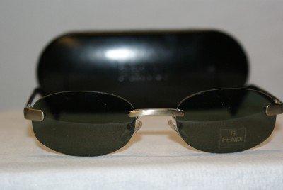 B. New Fendi Sand Green Sunglasses: Mod. FS234 & Case