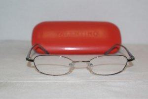 Brand New Valentino Gunmetal Palladium Eyeglasses: Mod. 5238 47-18 & Case