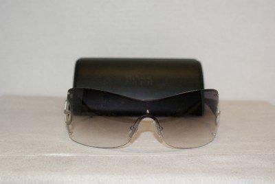 Brand New Hugo Boss Satin Palladium Sunglasses: Mod. 0164 (0VHP) & Case