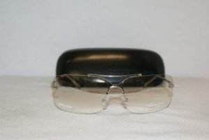 New Kenneth Cole Silver Sunglasses: Mod. 900 & Case