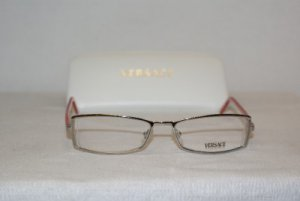 Brand New Versace Silver Eyeglasses: Mod. 1069 & Case