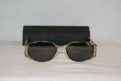 B. New Cazal Black & Gold Sunglasses: Mod. 984 & Case