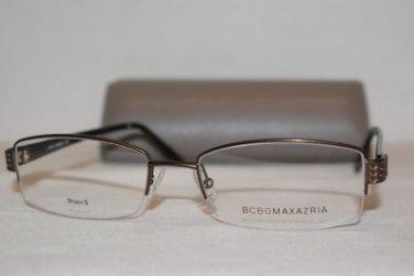 Brand New BCBGMaxazria Eyeglass Mod. Armando A  Col. Brown  54-18-145 & Case