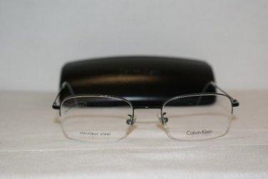 Brand New Calvin Klein 390 52-20 Eyeglasses: Mod. 390 (590) & Case