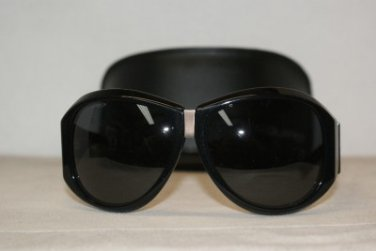 Brand New DSquared2 0037 Shiny Black Sunglasses: Mod. DQ 0037 (01A) & Case