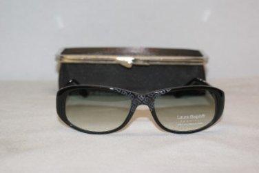 New Black Laura Biagiotti Sunglasses: Mod. 85399 (739) & Case