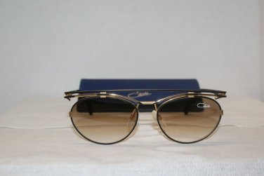 Cazal Vintage Black & Gold Sunglasses: Mod. 970 & Case