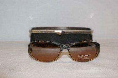 New Brown Laura Biagiotti Sunglasses: Mod. 85399 (589) & Case