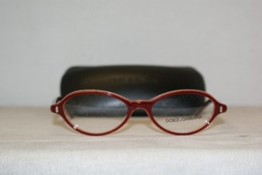 New Dolce & Gabbana 3105 Burgundy 50-16 Eyeglasses: Mod. 3105 (1536) & Case