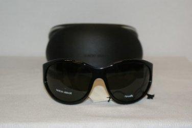 New Giorgio Armani 208 Black Sunglasses: Mod. 208 & Case