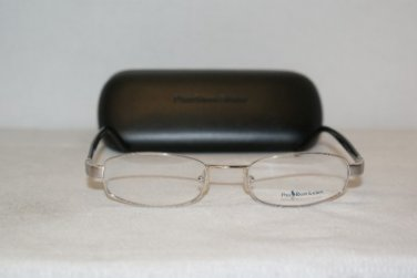 New Polo Ralph Lauren  Mod. 484 Silver Eyeglasses:50-20 & Case