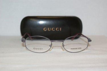 Brand New Gucci 1628 Purple 48-20 Eyeglasses: Mod. 1628 & Case