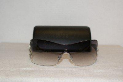 Brand New Hugo Boss 0164 Satin Palladium Sunglasses: Mod. 0164 (0VHP) & Case