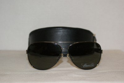Brand New Kenneth Cole 4101 Gunmetal Sunglasses: Mod. 4101 (731) & Case