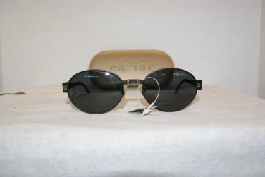 B. New Caviar Ultra 7370 Black Sunglasses: Mod. 7370 & Case