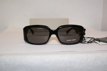 Brand New Giorgio Armani 432 Black Sunglasses: Mod. 432 & Case