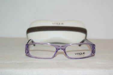 Brand New Vogue 2646 Clear Violet 51-15 Eyeglasses: Mod. 2646 (1746) & Case