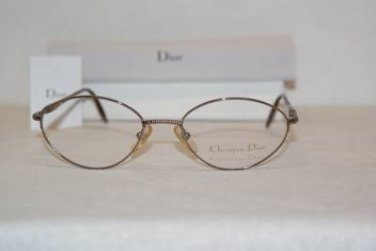 Brand New Christian Dior Eyeglass Mod. 3562 Col. W2E  53-19-135 & Case