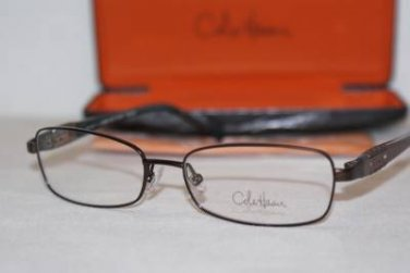 Brand New Cole Haan Eyeglass Mod. 951 Col. Brown 51-15-130 & Case