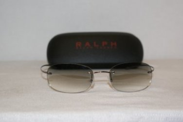Brand New Ralph by Ralph Lauren 7555 Gunmetal Sunglasses: Mod. 7555 & Case