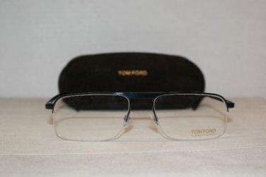 Brand New Tom Ford 5168 Turquoise 55-17 Eyeglasses: Mod. 5168 (090) & Case